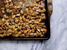 Easy roasted pumpkin seeds | Healthfully Ever After