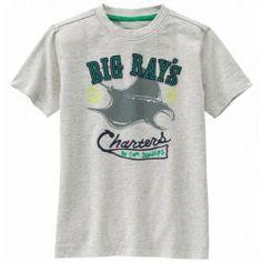 Camiseta Gymboree Big Ray's Charters