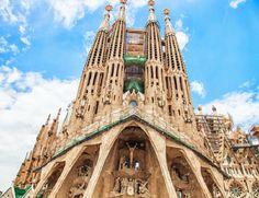 La Sagrada Família, em Barcelona, na Espanha.