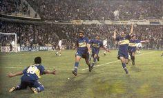 Boca Juniors - 2000 - Boca 3 a 0 a riBer - Copa Libertadores - Gol de Riquelme
