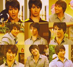Some of the many funny faces of James Diamond :)