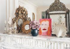 L'Wren Scott's Paris apartment (Vogue)