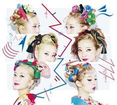 Fashion Advertising, Hair Ornaments, Yukata, Japanese Fashion, Kimono, Hair Accessories, Hairstyle, Graphic Design, Womens Fashion