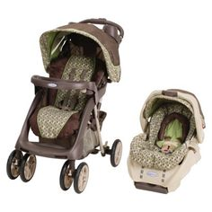 Graco Stylus Quot Posie Quot Tan Seat Brown Stroller Amp Pink