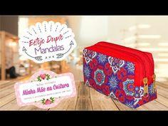 Estojo Duplo Mandalas | Comemoração de 1 ano | Minha Mãe na Costura - YouTube