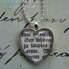 Tahdon laupias armo 20€ Tea Design, Dog Tags, Dog Tag Necklace, Jewelry, Jewlery, Jewerly, Schmuck, Jewels, Jewelery