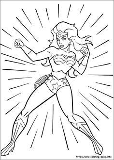 wonder woman coloring pages | woman | Pinterest | Wonder Woman