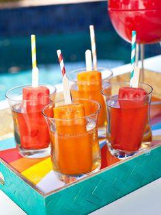 What a 'cool' summer backyard BBQ drink!