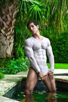 Sexy Latino Male Model