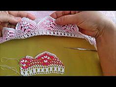 Havlu kenarı dantel oyası modeli │ Anlatımlı Video - YouTube