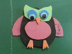 Craft foam owl
