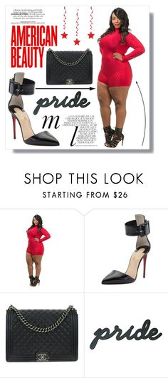 """""""Fifthdegree 3"""" by plussizeforless ❤ liked on Polyvore featuring Christian Louboutin, Chanel and Whiteley"""