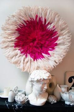 #Juju_hat #feathers http://sadieandstella.blogspot.com/2011/03/dabble-magazine-and-return-of-juju-hat.html