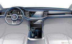 Volkswagen Cross Coupé GTE Revealed in Detroit