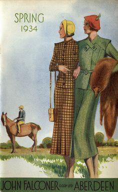Spring 1934 John Falconer department store catalogue.-- Glasgow University Library