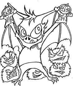 lego vampire coloring pages