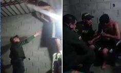 Ángel salvador: valiente policia evito que joven se suicidara y hasta le consiguio trabajo