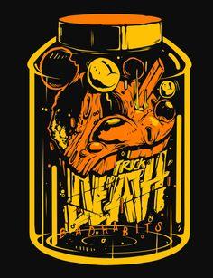 Bad Mickey T-Shirt Design by Twobe Galicia. - RADAR