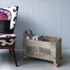 Lovely Things Crate on Wheels