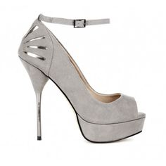 peep toe pump #so elegant