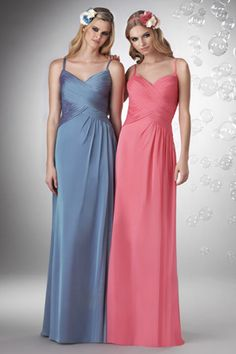 Style 724: Bridesmaids, Prom, Special Occasion & Evening: Bari Jay and Shimmer