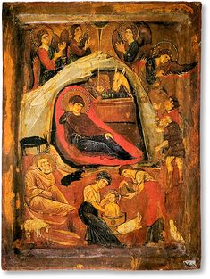 The Pictorial Metaphysics of the Icon: Part III Romanesque Art, Religious Icons, Orthodox Icons, Sacred Art, Christianity, Nativity, Medieval, Abstract, Painting