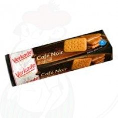 Café noir - A delicious cookie. We used to lick until the glaze-coffee-tasting-side of the cookie was all gone. We surely had fun with it...and definitely one of my favorite cookies of all times....
