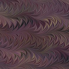 wow!  Crepaldi Marbled Paper - Aubergine Waved Chevron at paper mojo.com