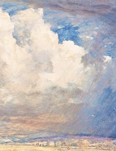 Summer Storm near Pulborough, Sussex (detail), Samuel Palmer, c.1851