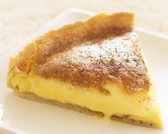 James Martin's custard tart