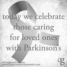 In honor of Parkinson's awareness day...
