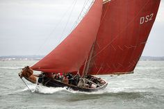 "Pilot cutter ""Jolie Brise"", built in 1913 in Le Havre and still going strong. Photo courtesy of Dauntsey's School/Jolie Brise"