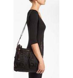 Main Image - MZ Wallace 'Mia' Bedford Nylon Crossbody Bag