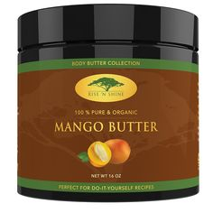 (16 oz) Raw Mango Butter with RECIPE EBOOK - Perfect for All Your DIY Home Recipes like Soap Making, Lotion, Shampoo, Lip Balm and Hand Cream - Bulk Organic Unrefined Mango Butter is Great for Scars ** Check this awesome product by going to the link at the image. (Note:Amazon affiliate link)