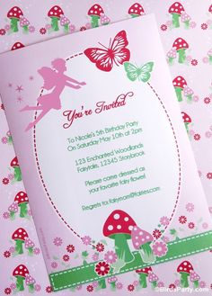 How to Style a DIY Pixie Fairy Birthday Party! by Bird's Party