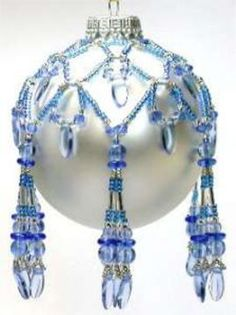 Image result for Roses Beaded Ornament by Deb Moffett-Hall.
