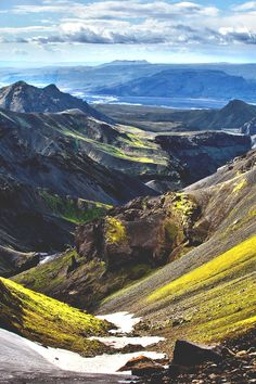 AMAZING tumblr. a must see. these pictures show why this world is worth living on : Fimmvörðuháls, Iceland