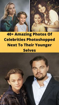 40+ #Amazing Photos Of #Celebrities #Photoshopped Next To Their #Younger Selves Hilarious Memes, Wtf Funny, Funny Humor, Amazing Photos, Cool Photos, Online Shopping Fails, Grey Hair Transformation, Random Stuff, Funny Stuff