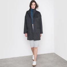 Image Manteau ample col montant R essentiel