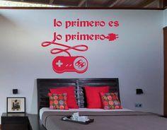 Ebre Vinil Vinilo Decorativo Lo primero es lo primero 02638