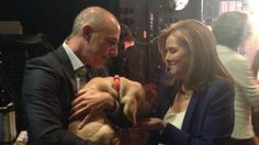 Watch Matt Lauer and the TODAY puppy hang out with Meredith Vieira