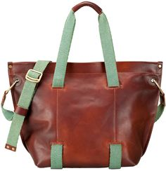Hemingway Tote in British Tan by The MADLY