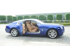 Suicide doors make a statement in the 2014 Rolls-Royce Wraith. My Dream Car, Dream Cars, Royce Car, Rolls Royce Wraith, Ultimate Garage, Cars Usa, First Drive, Car Images, Hot Cars