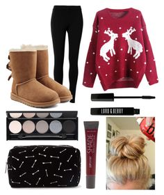 """Untitled #48"" by masha-anastasia on Polyvore featuring Max Studio, UGG Australia, Lane Bryant, Forever 21, Witchery and Lord & Berry"