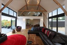 Kensworth barn conversion with mezzanine