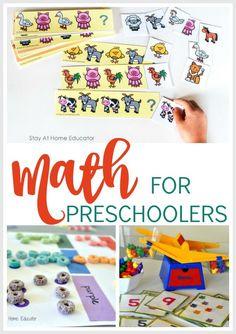 Using math as part of STEAM activities for preschool