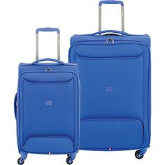Delsey Chatillon 2 Piece Carry On and 25 Spinner Luggage Set Blue * This is an Amazon Affiliate link. Check out the image by visiting the link.