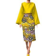 Special Use: Traditional Clothing Item Type: Africa Clothing Type: Dashiki Estimated Delivery Material: Cotton Model Number: Gender: Women Color: 14 Material: Cotton Type: Top+Skirt African Print Skirt, African Print Dresses, African Fashion Dresses, African Dress, Fashion Outfits, African Attire, African Wear, African Women, Ankara Dress