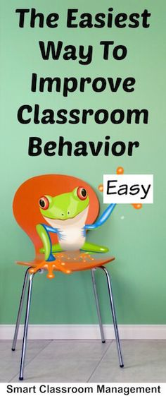 The Easiest Way To Improve Classroom Behavior: I love this!