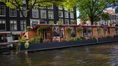 beautiful house on the water Water House, Amsterdam, Beautiful Homes, Vacation, Photography, Travel, House Of Beauty, Vacations, Photograph